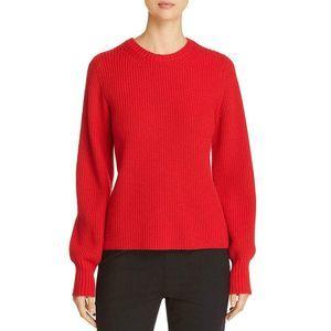 Tory Burch Sweater L Kennedy Shaker Stitch Wool